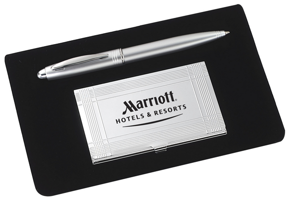 Corporate Gifts Company - Silver Corporate Gift Set