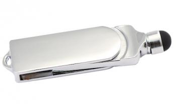 8G Flash Drive With Stylus With Metal Case