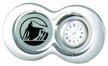 Circular Photo Frame and Clock