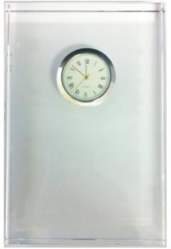 Crystal Trophy Clock