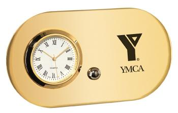 Designer Gold Clock