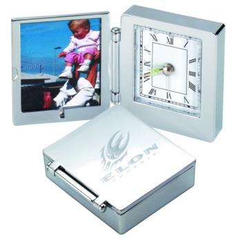 Desk Clock and Picture Frame