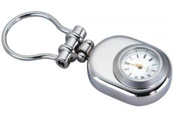 Dual Clock Hinged Key Chain