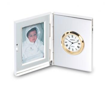 Dual Clock and Picture Frame