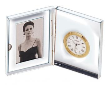 Dual Picture Frame and Clock