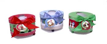 Footed Hat Holiday Boxes