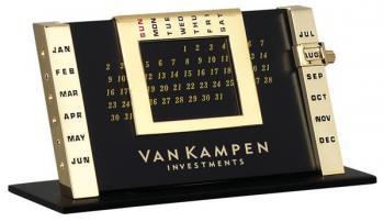 Gold Table Calendar