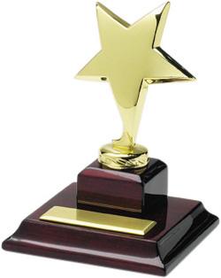 Golden Shining Star Trophy