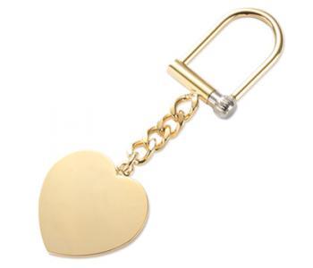 Heart Gold Keychain