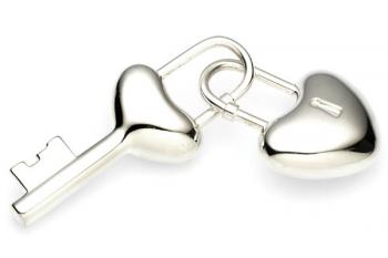 Heart to Heart Key Ring