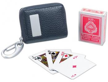 Mini Travel Card Deck and Keychain