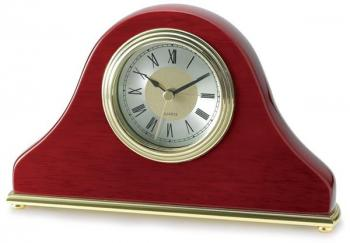 Pavilion Wood Quartz Clock