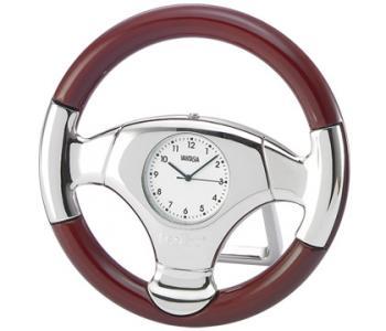 Rosewood Wheel Clock