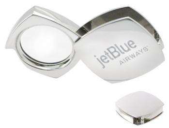 Silver Corporate Folding Magnifier