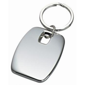 Silver Designer Key Chain