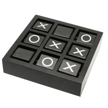 Tic Tac Toe Set with Wooden Case